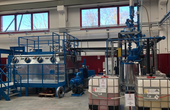 Próżniowa impregnacja uzwojeń transformatorów suchych żywicznych