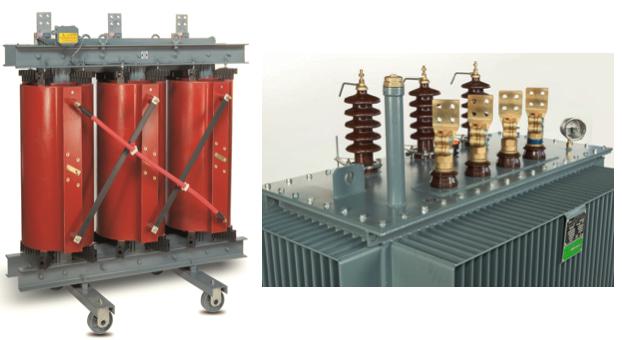 Transformator suchy żywiczny i olejowy do farm fotowoltaicznych